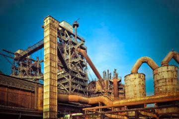 Site industriel désaffecté