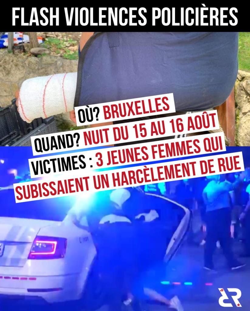 Violences policières à Bruxelles