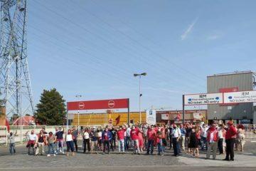Piquet de grève chez AB InBev