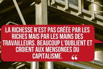 La parole aux ouvriers d'usines