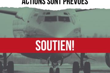 Soutien aux travailleurs de Brussels Airlines