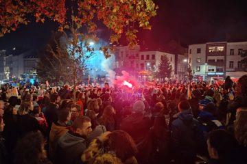 Manifestation face aux violences sexuelles à Bruxelles